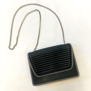 Express Black Chain Shoulder Bag